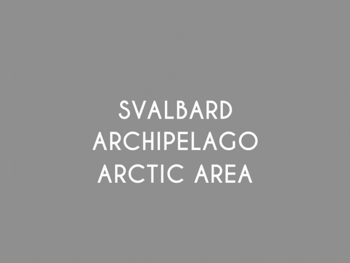SVALBARD ARCHIPELAGO AND ARCTIC AREA